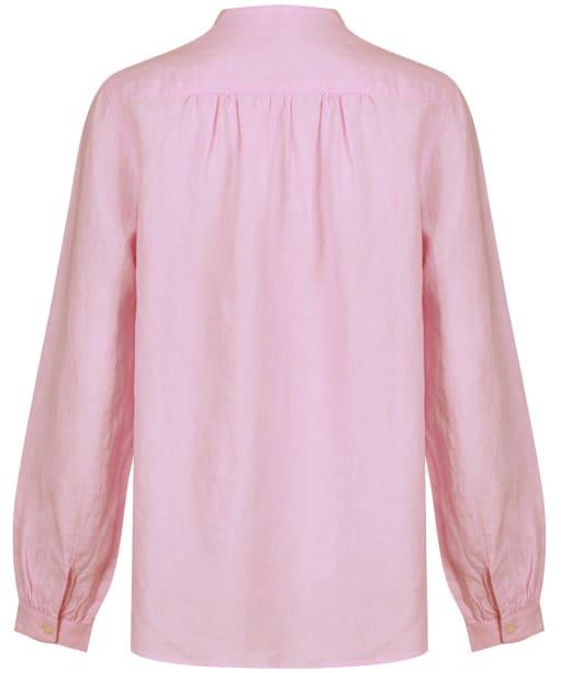 Women's Schoffel Athena Linen Shirt - Pink