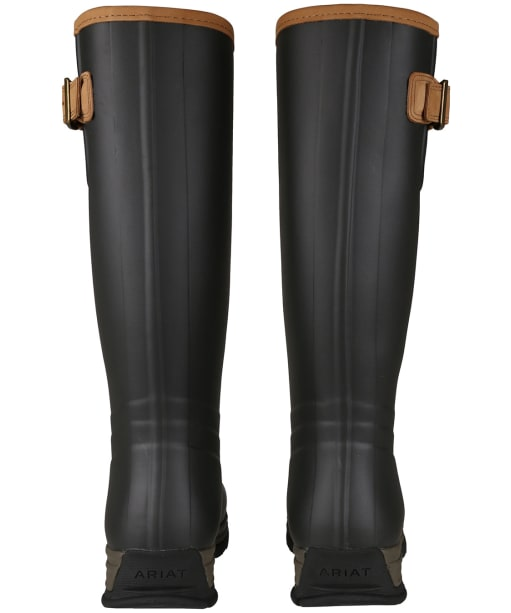 Women's Ariat Burford Waterproof Rubber Boots - Brown