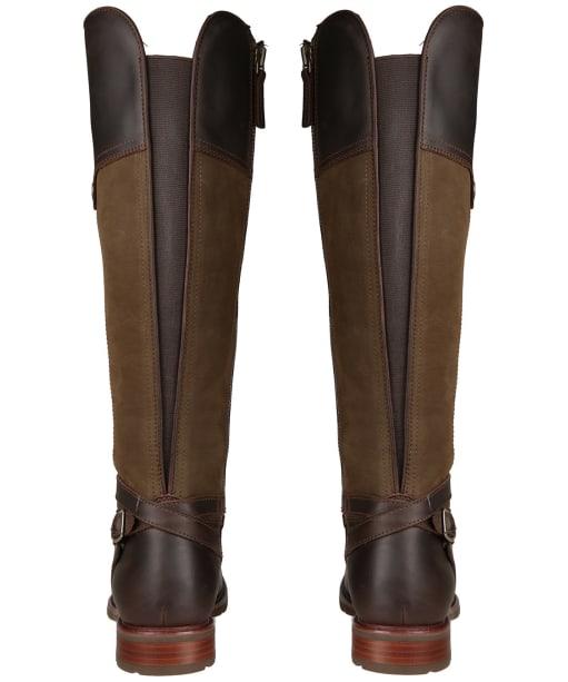 Women's Ariat Carden H2O Boots - Chocolate / Dark Olive