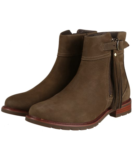 Women's Ariat Abbey Boots - Dark Olive