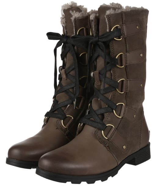 Women's Sorel Emelie™ Lace Waterproof Boots - Major