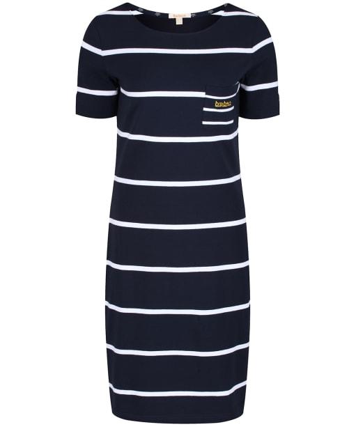 Women's Barbour Stokehold Dress - Navy / White