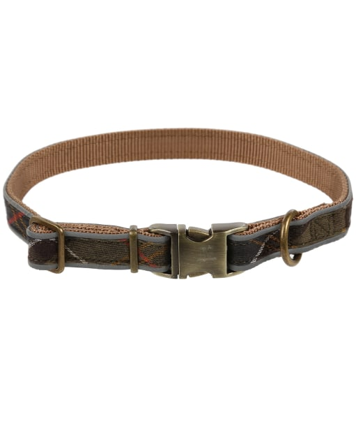 Barbour Reflective Tartan Dog Collar - Classic Tartan