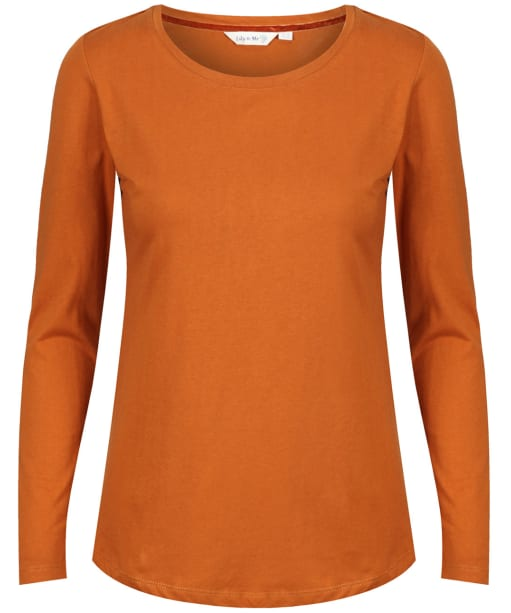 Women's Lily & Me Layering Tee - Ginger