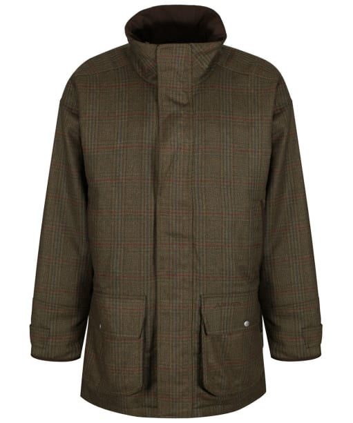 Men's Schoffel Ptarmigan Tweed Coat - Buckingham Tweed