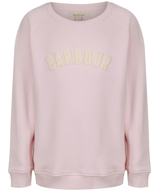 Girl's Barbour Clair Sweatshirt, 2-9yrs - Rose