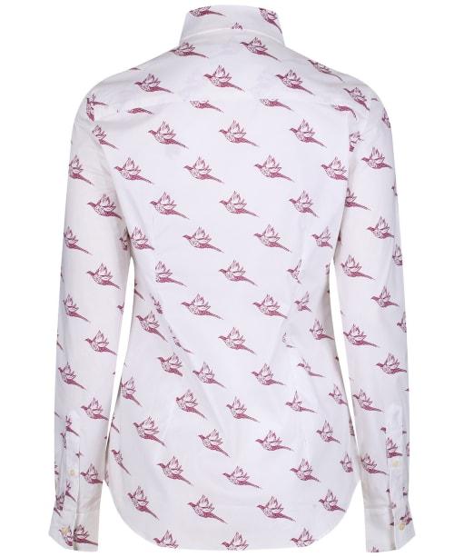 Women's Schoffel Norfolk Shirt - Fig Pheasant