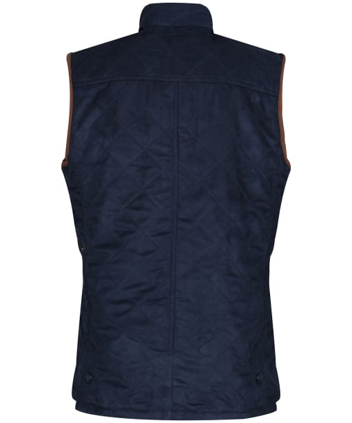 Men's Alan Paine Felwell Quilted Waistcoat - Navy