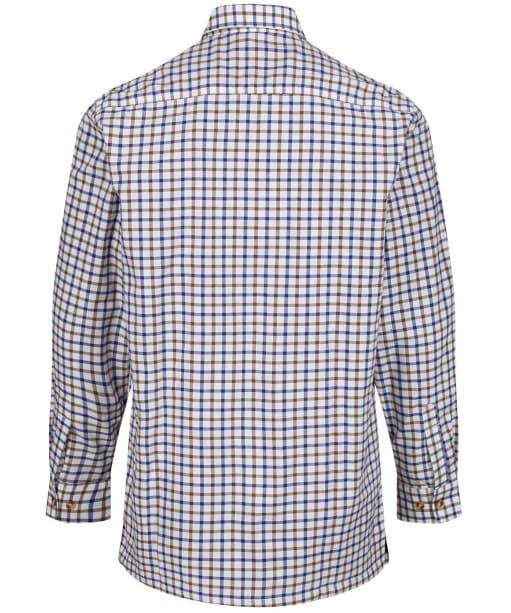 Men's Alan Paine Bury Fleece Lined Shirt - Brown Check