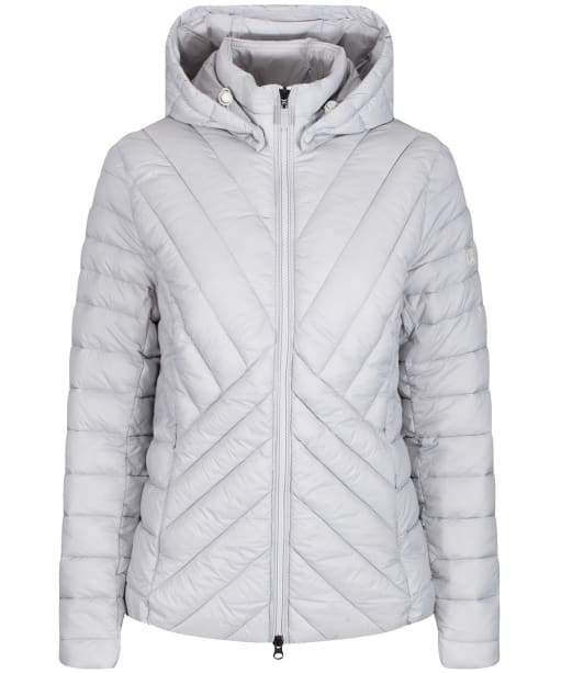 Women's Barbour Rowlock Quilted Jacket - Ice White