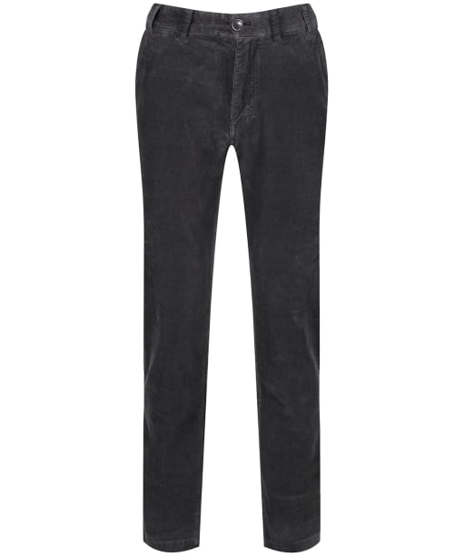 Men's Barbour Neuston Stretch Cord Trousers - Charcoal