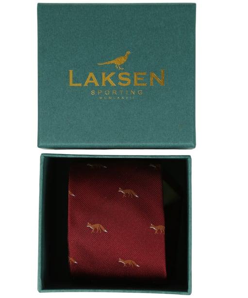 Men's Laksen Fox Tie - Vintage Red