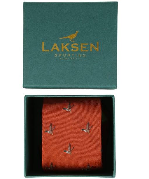 Men's Laksen Duck Tie - Blood Orange