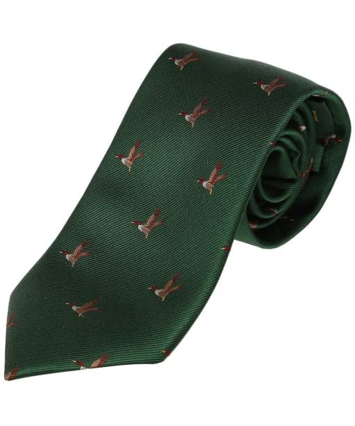 Men's Laksen Duck Tie - British Racing Green