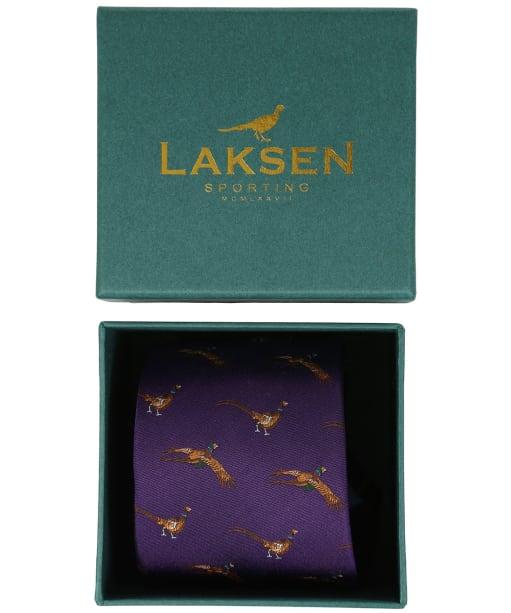 Men's Laksen Fly-By Pheasant Tie - Heather