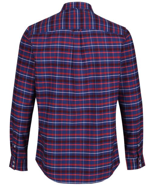 Men's Crew Clothing Ridgegate Classic Shirt - Bright Navy / Red