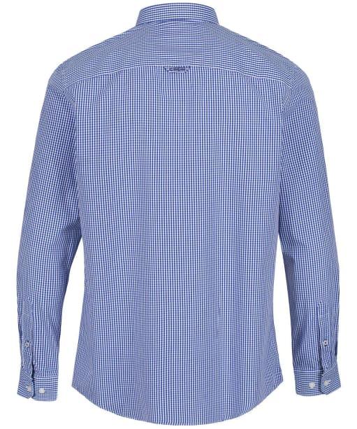 Men's Crew Clothing Classic Micro Gingham Shirt - Ultra Marine