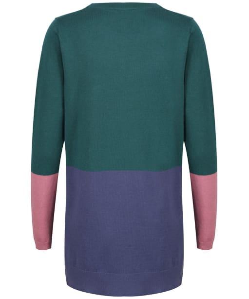Women's Crew Clothing Colourblock Tunic - Green Mix