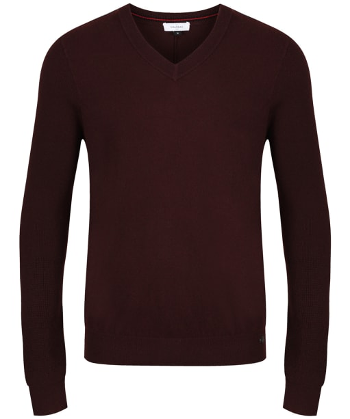 Men's Le Chameau Asthall Jumper - Burgundy