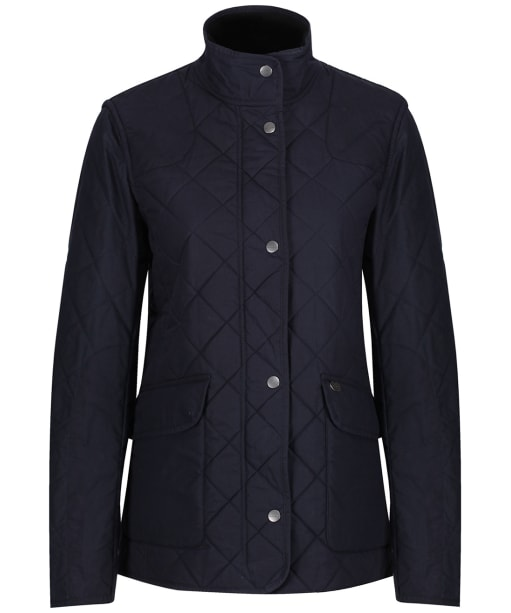 Women's Le Chameau Quilted Country Jacket - Navy