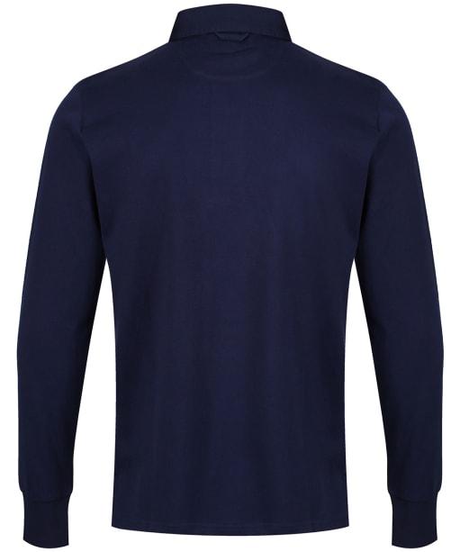 Men's GANT Original Heavy Rugby Shirt - Evening Blue