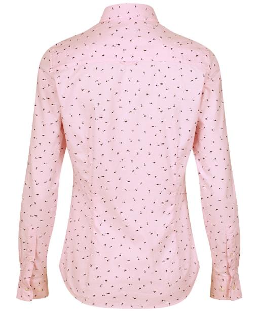 Women's GANT Lure Print Stretch Oxford Shirt - California Pink