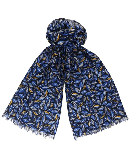 Women's Seasalt New Everyday Scarf - Embroidered Leaves Magpie