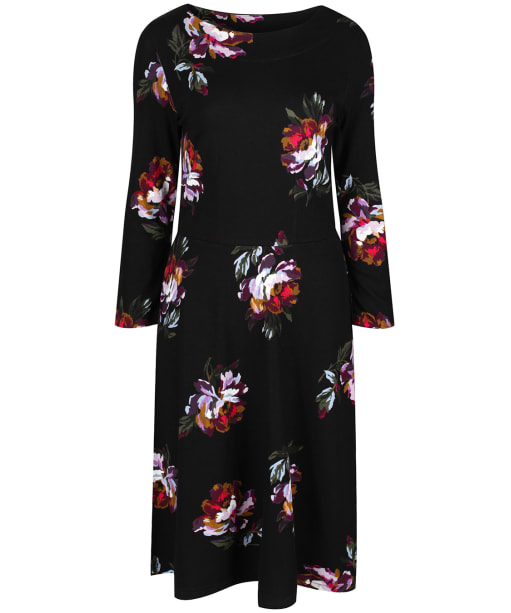 Women's Joules Shay Print Dress - Black Peony