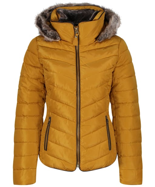 Women's Joules Gosway Padded Jacket - Caramel