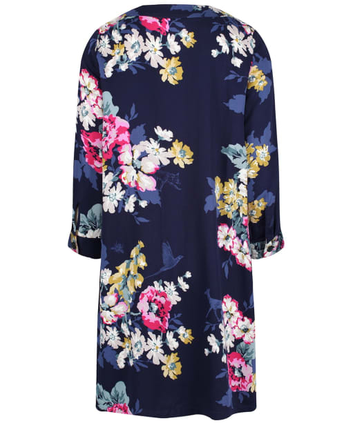 Women's Joules Daisy Boat Neck Woven Dress - Cambridge Anniversary Floral