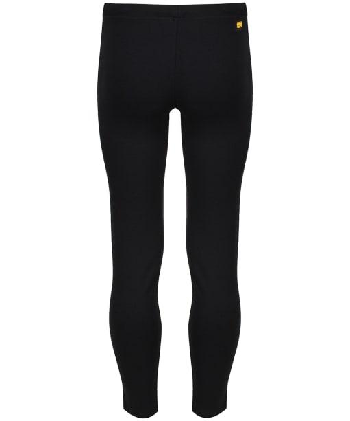 Girl's Barbour International Track Pants, 2-9yrs - Black