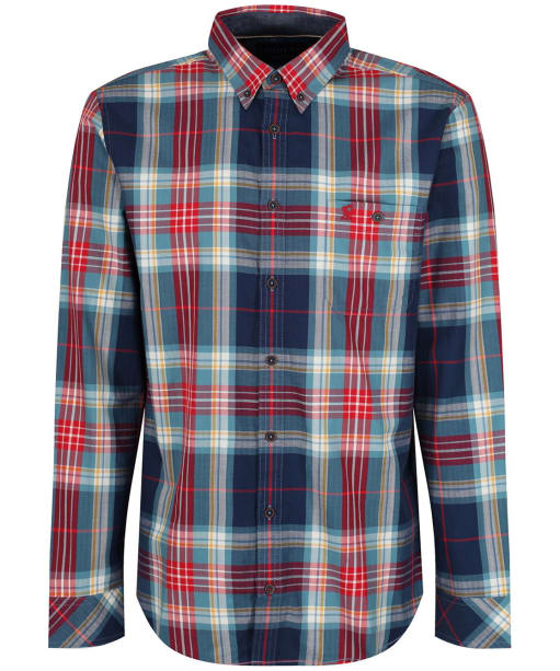 Men's Joules Hewitt Classic Shirt - Navy / Emerald Check