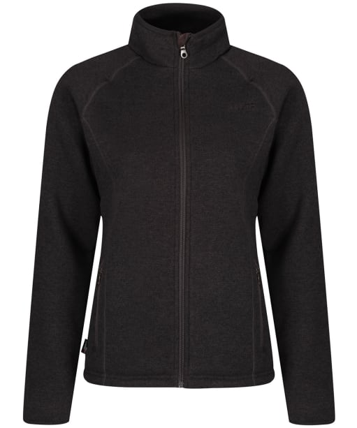 Women's Musto Super Warm Polartec Windjammer Fleece Jacket - Liquorice