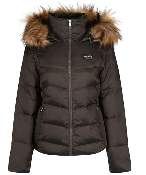 Women's Musto Burghley Quilted 2 in 1 Jacket - Rifle Green