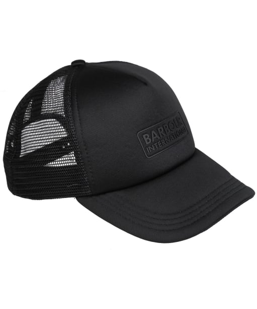 Men's Barbour International Heli Trucker Cap - Black