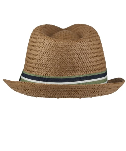 Men's Barbour Whitby Trilby Hat - Brown