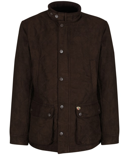Men's Alan Paine Felwell Quilted Jacket - Brown