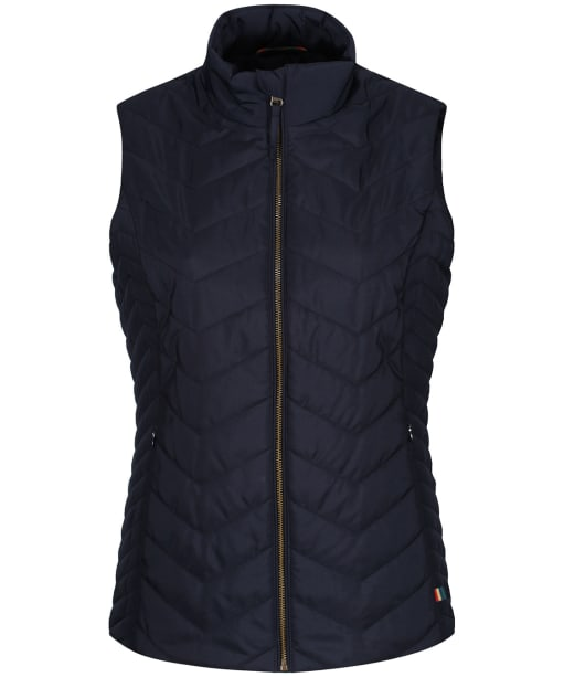 Women's Alan Paine Surrey Quilted Gilet - Navy