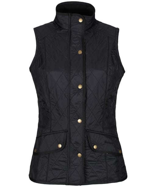 Women's Barbour Cavalry Gilet - Black