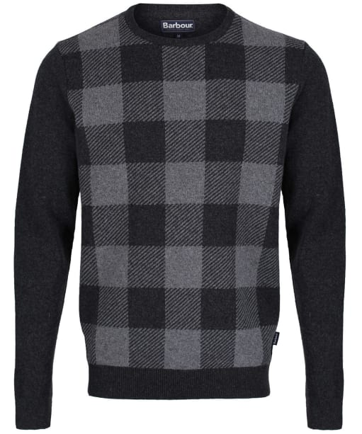 Men's Barbour Buffalo Crew Neck Sweater - Graphite