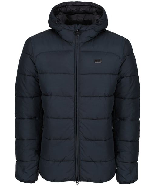 Men's Barbour International Court Quilted Jacket - Black
