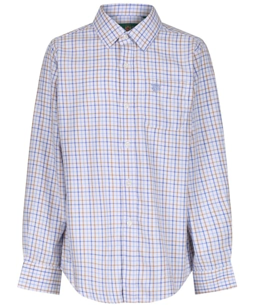 Boy's Alan Paine Ilkley Shirt, 3-16yrs - Blue / Beige