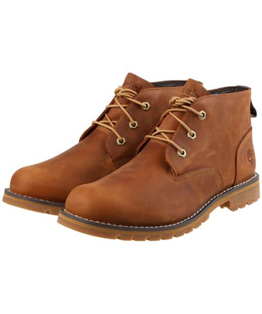 Men's Timberland Larchmont Water proof Chukka Boots - Medium Brown