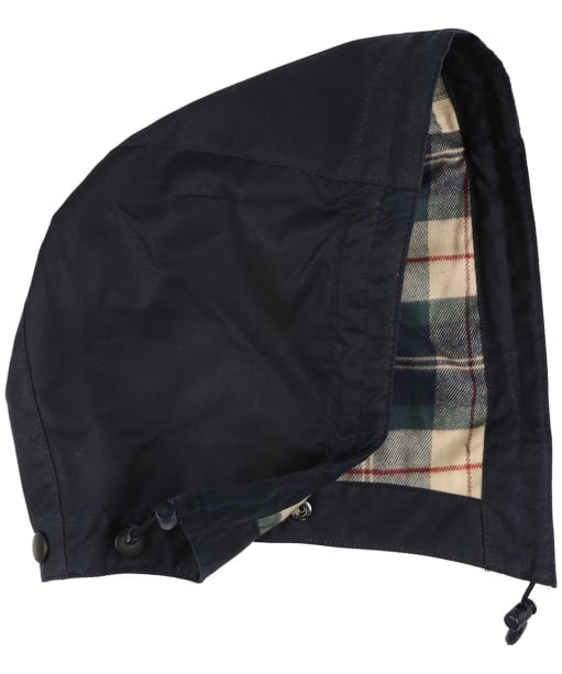Men's Barbour X Land Rover Tartan Hood - Navy