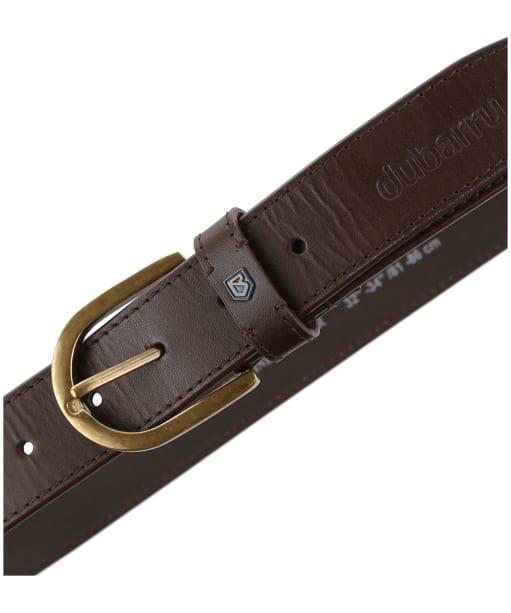 Men's Dubarry Porthall Leather Belt - Brown