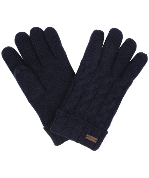 Women's Dubarry Buckley Knitted Gloves - Navy