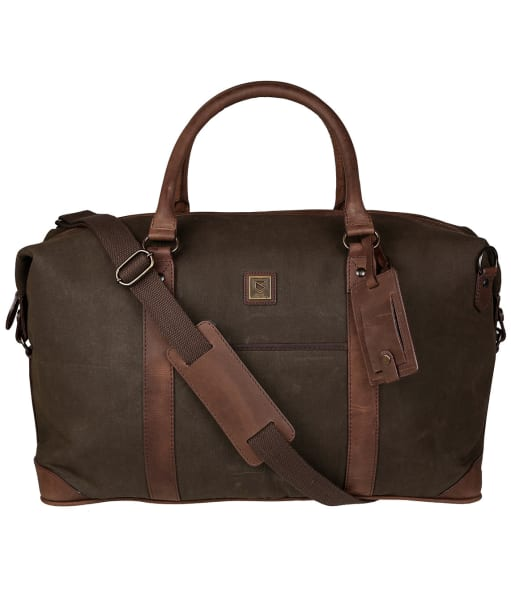 Dubarry Brittas Wax Cotton Holdall - Olive