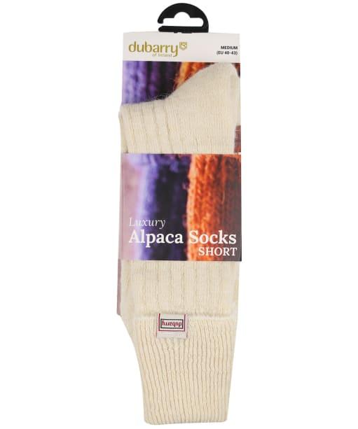 Dubarry Holycross Alpaca Socks - Cream