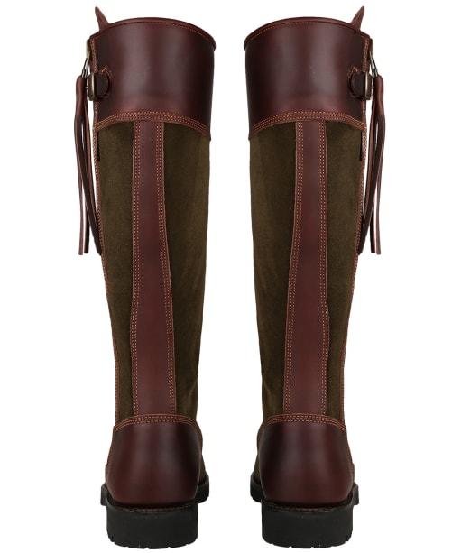 Women's Penelope Chilvers Inclement Long Tassel Boots - Seaweed / Conker