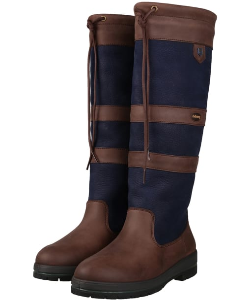 Dubarry Galway Boots - Navy / Brown